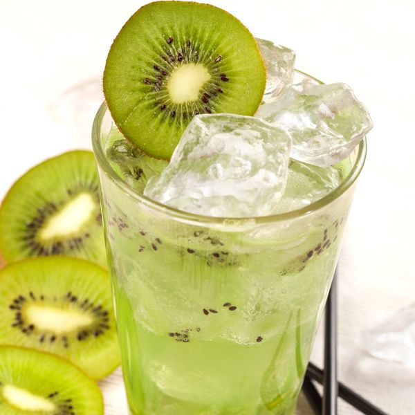 Kiwi Lychee Mocktail