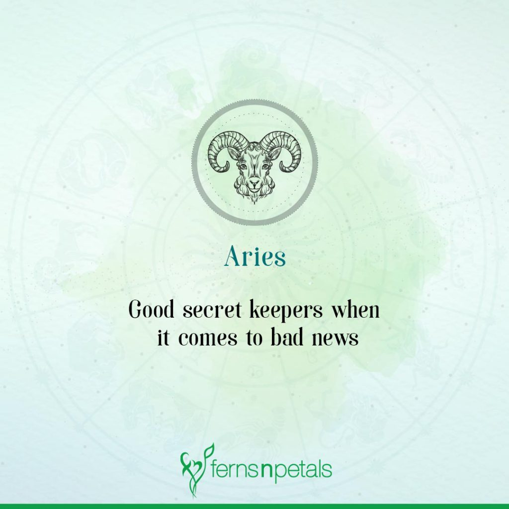 Aries (March 21 to April 19)
