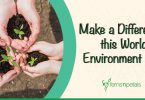 How can you make a difference this World Environment Day