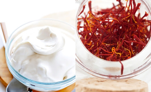 Saffron & Milk Cream Face Pack