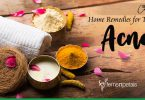 Home remedies for treating acne