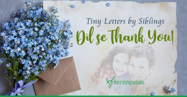 Tiny Letters By Siblings- Dil Se Thank You