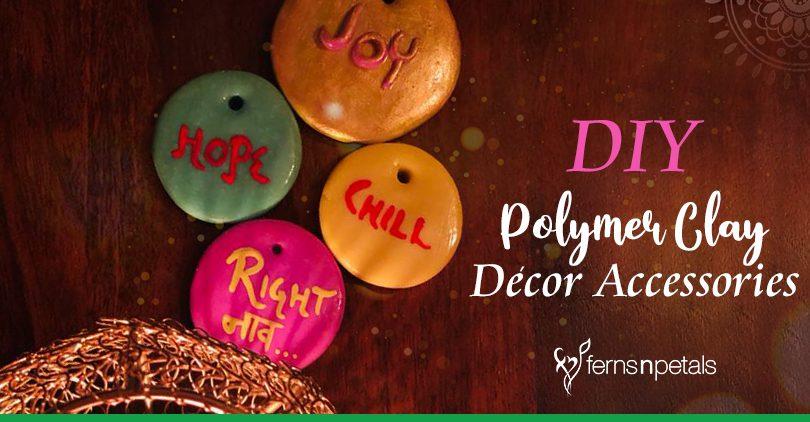 DIY Polymer clay Decor Accessories