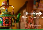 How to decorate the living area with handcrafted items