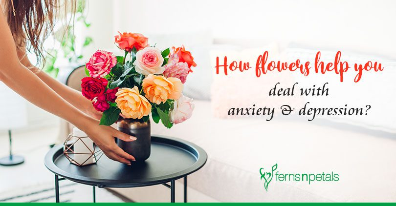 How flowers help you deal with anxiety & depression