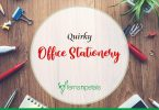 Quirky Office Stationery to Perk Up your Desk