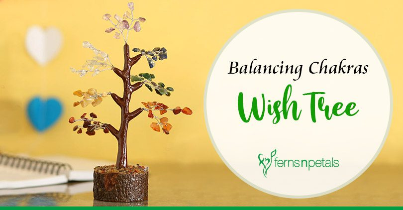 Balancing Chakras Wish Tree
