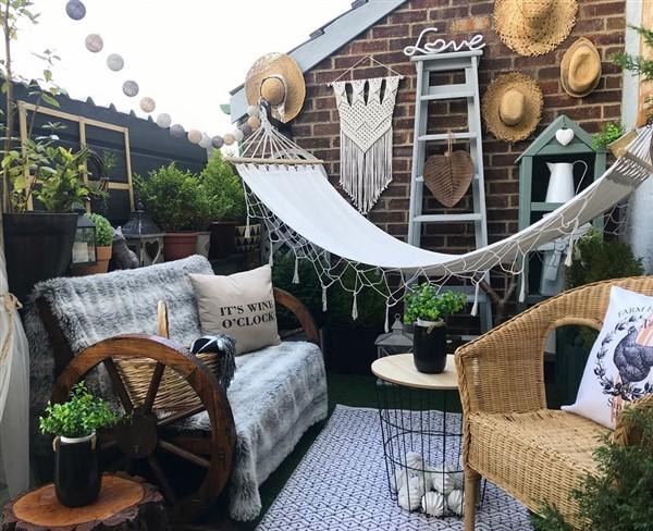 Install a swing or hammock