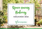 Space-saving Balcony Decoration Ideas