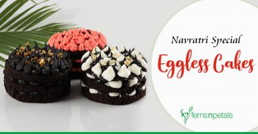 Navratri Special Eggless Cakes