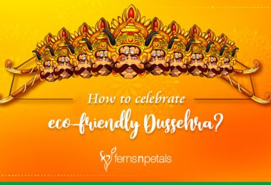 How to celebrate eco-friendly Dussehra?