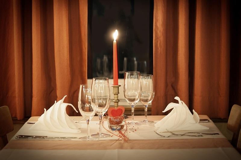 Romantic Candle-Light Dinner