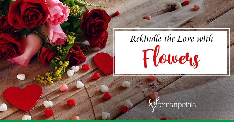Rekindle the love with Romantic Anniversary Flowers