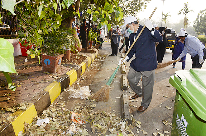 Cleanliness Drive - For Mind & Soul