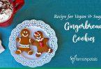 Recipe for Vegan & Sugar-Free Gingerbread Cookies