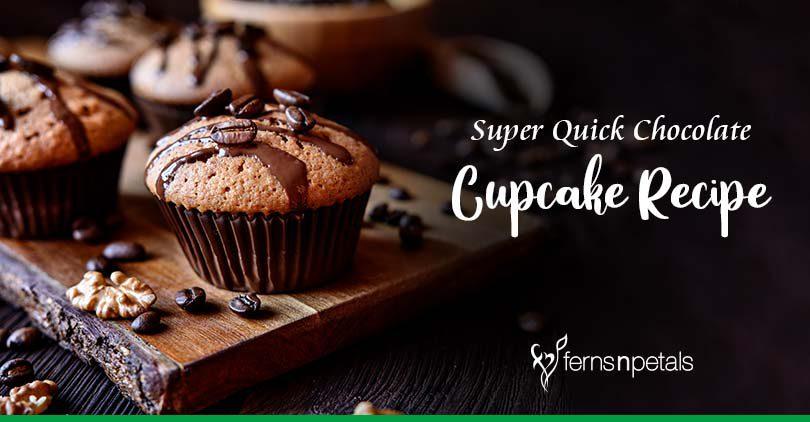 Super Quick Chocolate Cupcake Recipe