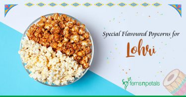 Special Flavoured Popcorns for Lohri