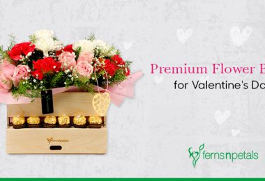 Premium Flower Boxes for Valentine's Day