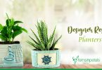 Designer-Resin-Planters