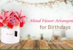 Mixed Flower Arrangements for Birthdays