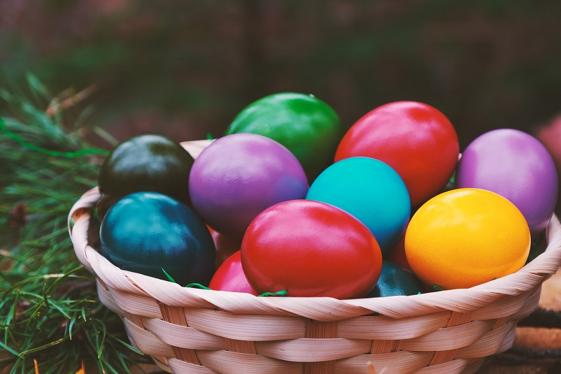 Tradition of painting eggs