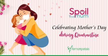 Celebrating Mother's Day during Quarantine