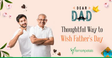 Here's a Thoughtful way to wish Father's Day