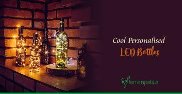 Personalised LED Bottles