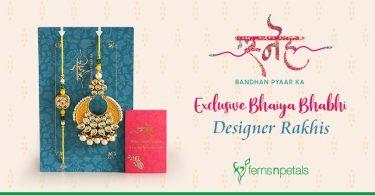 Take a look at ExExclusive Bhaiya Bhabhi Designer Rakhisclusive Bhaiya Bhabhi Designer Rakhis